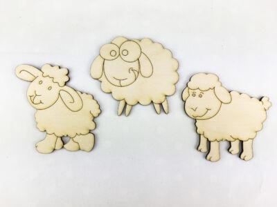 Natúr fa - Rajzos bárány szett
