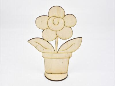 Natúr fa -  Talpas cserepes virág 18,5cm