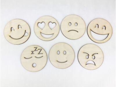 Natúr fa - Emoji fejek 8cm