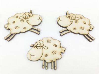 Natúr fa - Ugráló bárányok