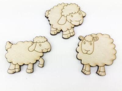 Natúr fa - Legelő bárányok
