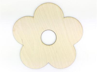 Natúr fa - Csokortartó virág 23cm