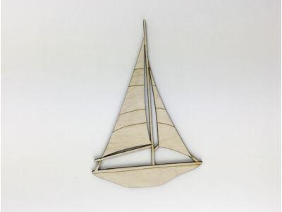 Natúr fa - Balatoni vitorlás 15cm