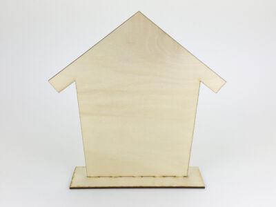 Natúr fa - Talpas ház 22x22,5cm