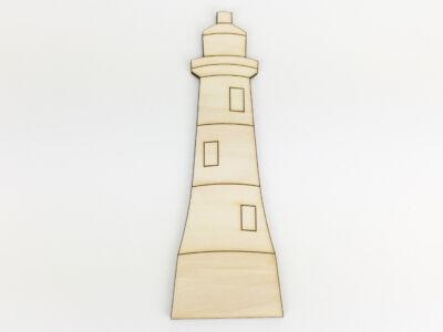 Natúr fa - Világítótorony 5,5x15,5cm
