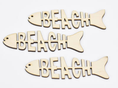 Natúr fa - BEACH hal 3,5x12cm 3db/csomag