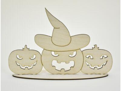 Natúr fa - Talpas Halloween tökök 20x30cm