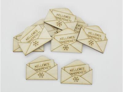 Natúr fa - Mini boríték 3,8x5cm 10db/csomag