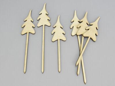 Natúr fa - Havas fenyő 6db/csomag