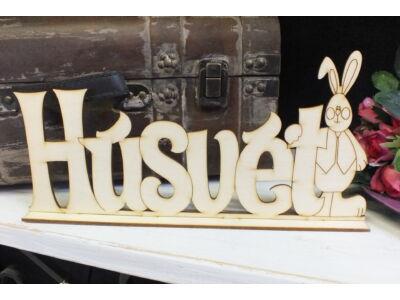 Natúr fa - Húsvét felirat talppal