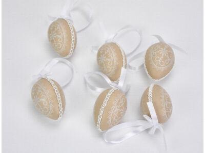 Paszományos tojás - homok 6db/dob