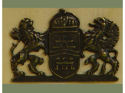 Budapest címer  (csomag ár!!! 5db/cs)