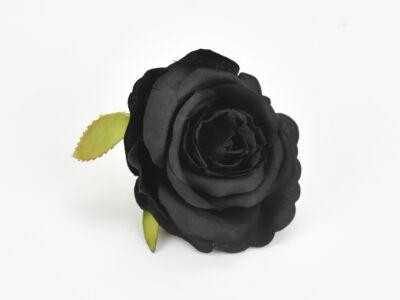 Rózsafej fekete 5cm