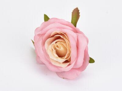 Rózsafej rózsaszín krém 5cm