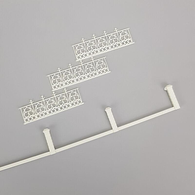 Szív mintás műanyag kerítés 1db/cs