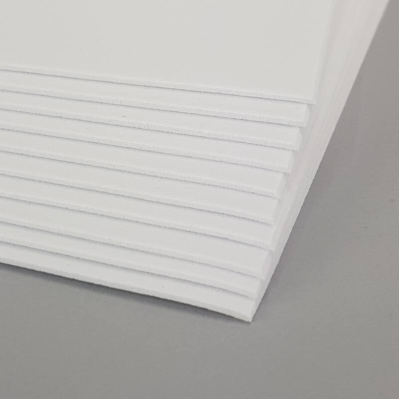 Dekorgumi 2mm 10db/cs - fehér