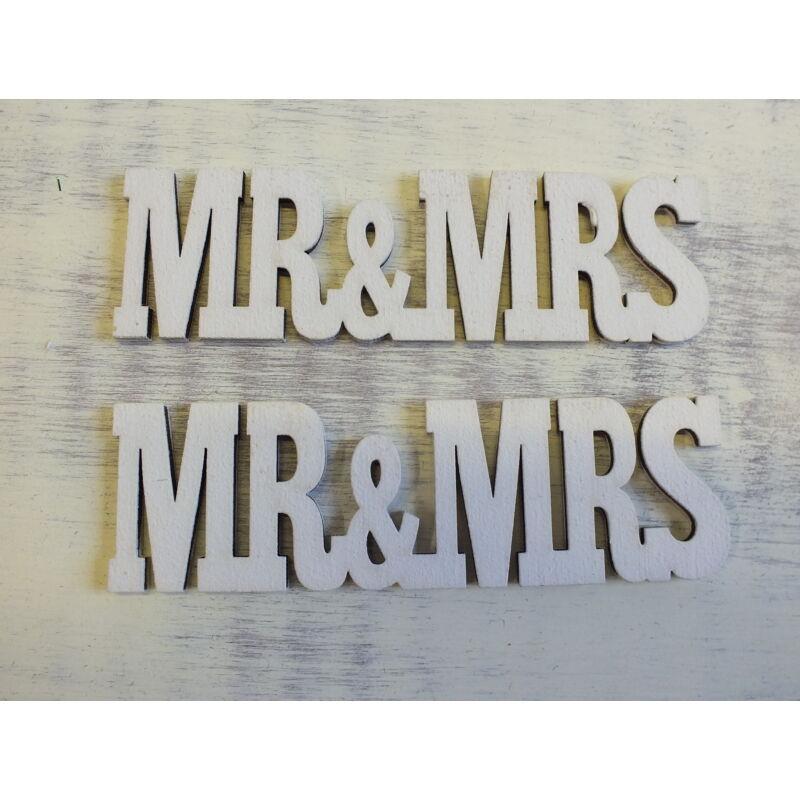 MR&MRS felirat