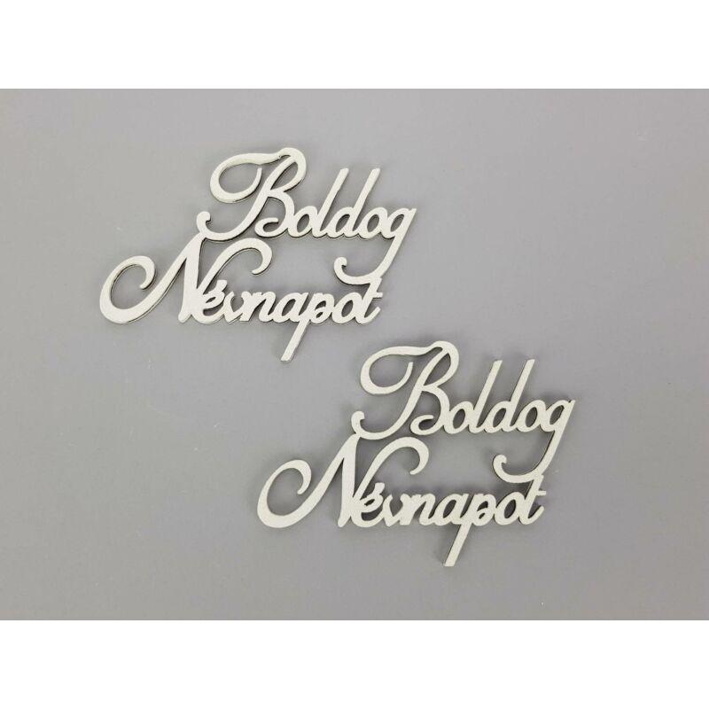Boldog névnapot felirat 9cm