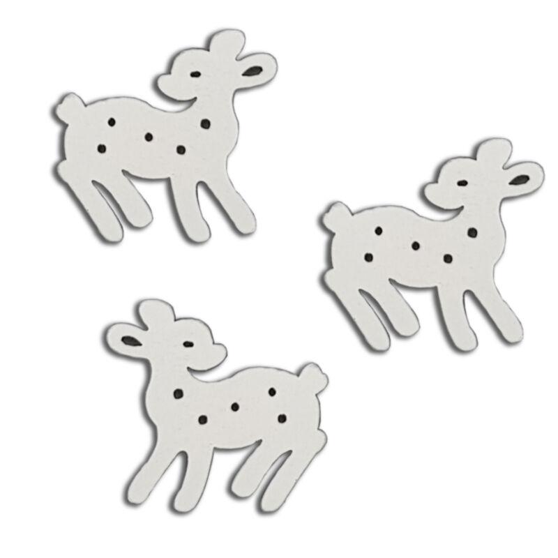 Mini Bambi fehér 3cm 40db/cs