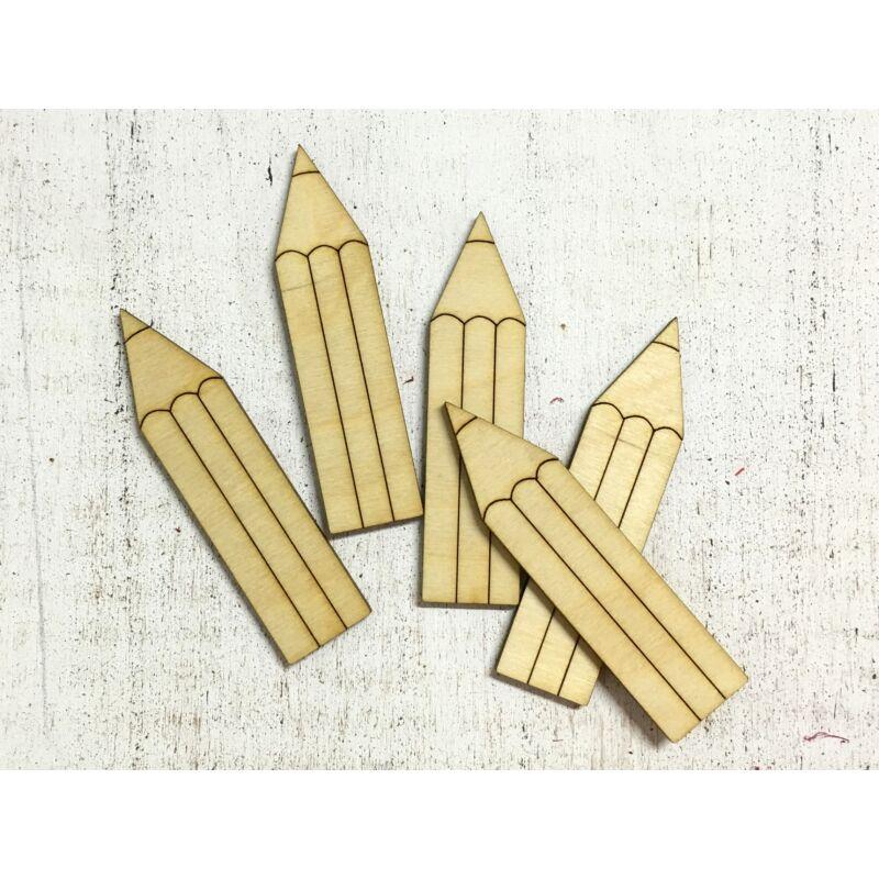 Natúr fa - Ceruza 9cm 5db/csomag