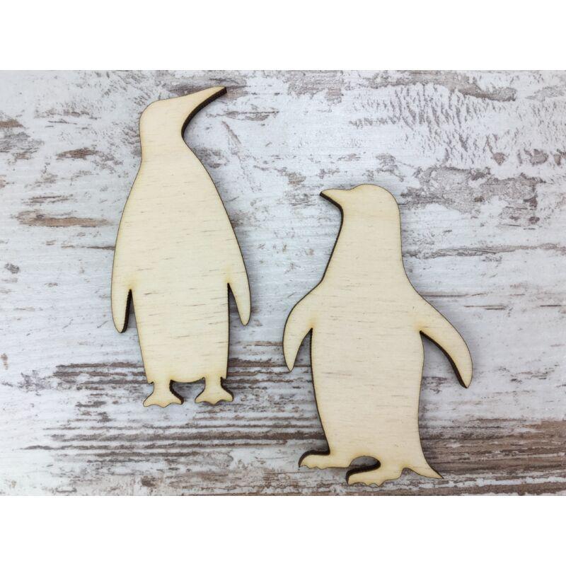 Natúr fa - Pingvin pár 8cm