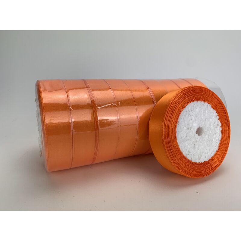 Narancs szatén szalag 2cm 10 tekercs - OKOS ÁR!