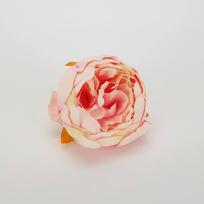 Pünkösdi rózsa fej cirmos rózsaszín 7cm