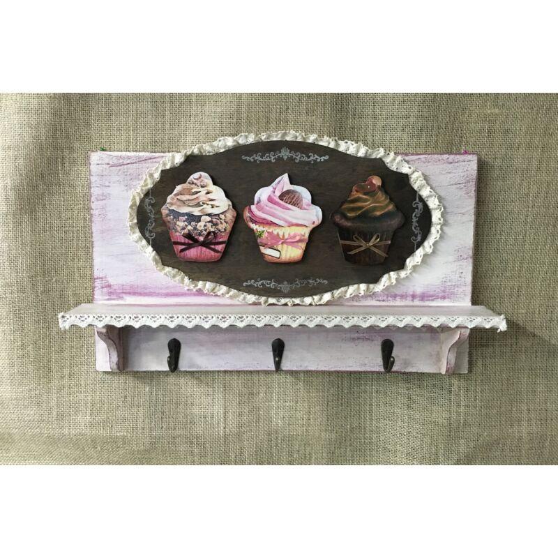 Natúr fa - Muffin kicsi 4x4,5cm 9db/csomag