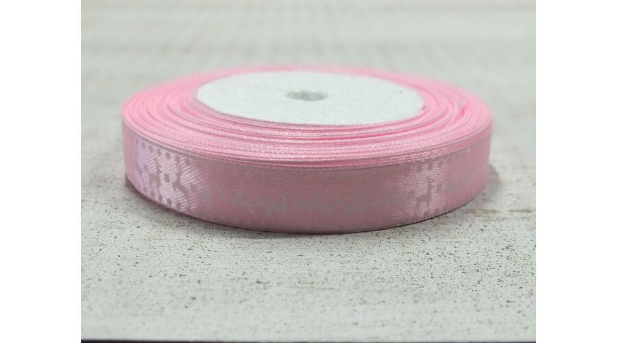 Szatén szalag szarvasos rózsaszín Katt rá a felnagyításhoz abf58be630